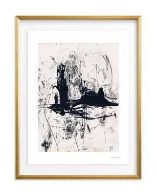 """Tour de Force II"" - 18"" x 24"", gilded wood frame, float mount, UV-Plexi, artist signature - Minted"