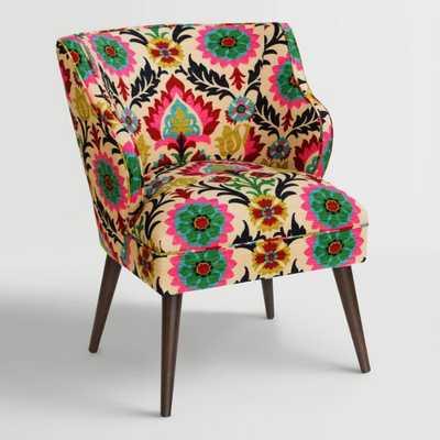 Desert Santa Maria Audin Upholstered Chair: Multi - Fabric by World Market - World Market/Cost Plus