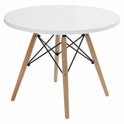 Arnault Wood Base Kids Round Table - Wayfair