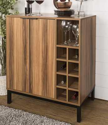 Boda Bar Cabinet with Wine Storage - Wayfair