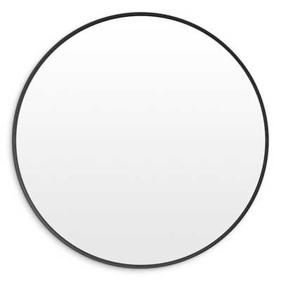 Hoopla Modern and Contemporary Accent Mirror - Oblivion - 51'' - Perigold