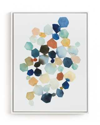 Hexagon Cluster Art Print - Minted
