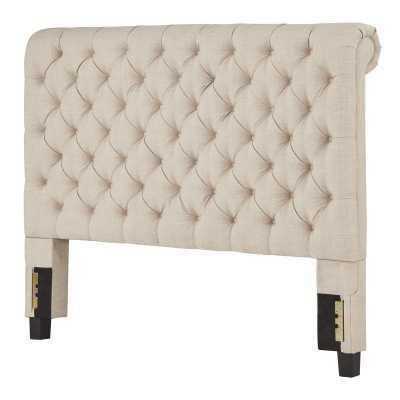 New Britain Upholstered Panel Headboard - king - Wayfair
