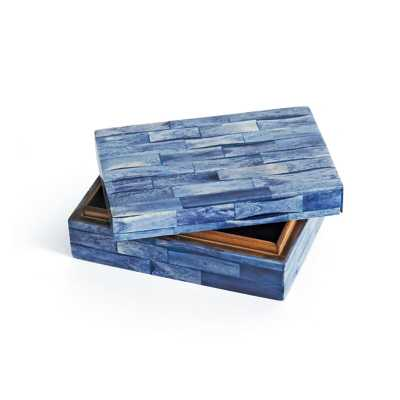 Glaspie Rectangular Decorative Box - Wayfair