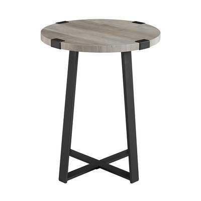 Bowden Side Table -  Gray Wash - Wayfair
