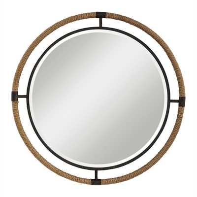 Melville Round Mirror - Hudsonhill Foundry