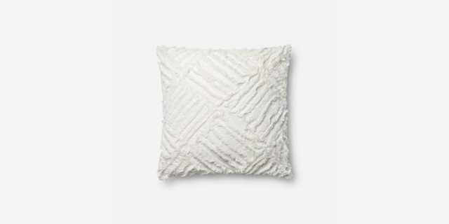 MH WHITE pillow - Loma Threads
