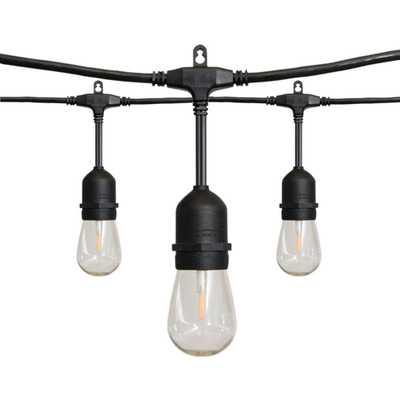 24 ft. 12-Light Filament LED String Light - Home Depot