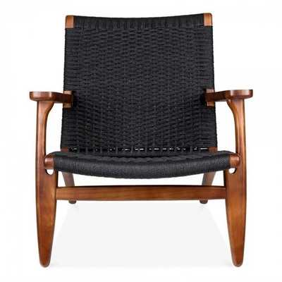 Woven Armchair - Wayfair