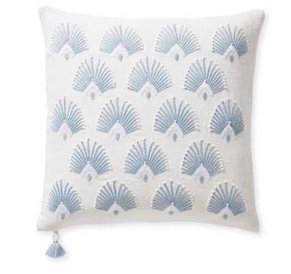 """Monarch Pillow Cover, 20"""" SQ - Serena and Lily"""