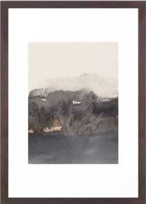 November morning 4 Framed Art Print, 15 X 21, Conservation Walnut - Society6