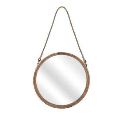 Senga Large Wood Mirror - Mercer Collection