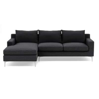 Sloan Sectional with Left Chaise - Interior Define
