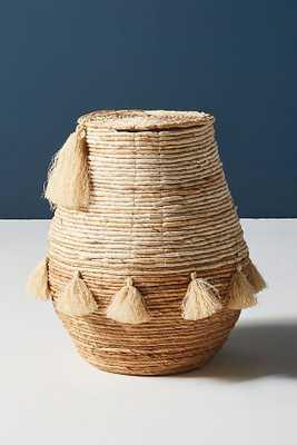 Tiefiti Tassel Basket - Anthropologie
