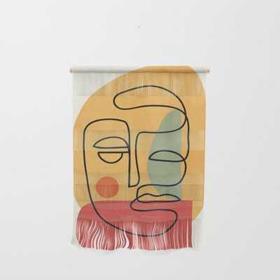 Abstract Face 20 Wall Hanging - Society6