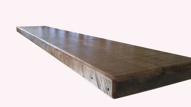 "Reclaimed Wood Shelf 60""W - Wayfair"