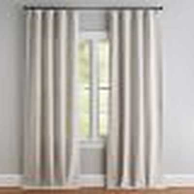 "SEATON TEXTURED DRAPE- 50 X 108""- Natural - Pottery Barn"