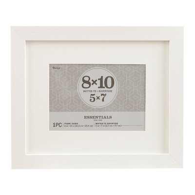 """Saundra Essentials Picture Frame - White, 8"""" x 10"""" - Wayfair"""