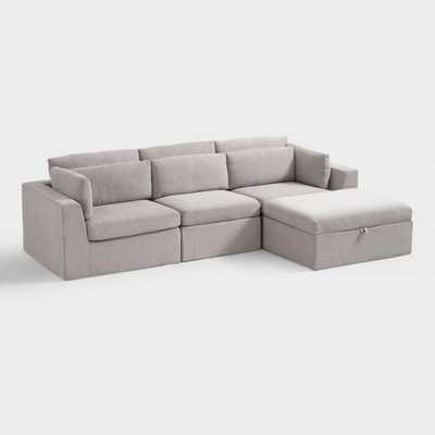 Emmett 4 Piece Modular Sectional Sofa - World Market/Cost Plus
