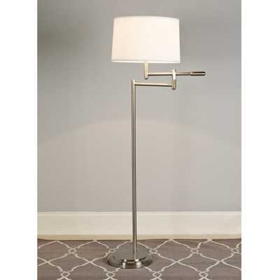 TILLER SWING ARM FLOOR LAMP - Shades of Light