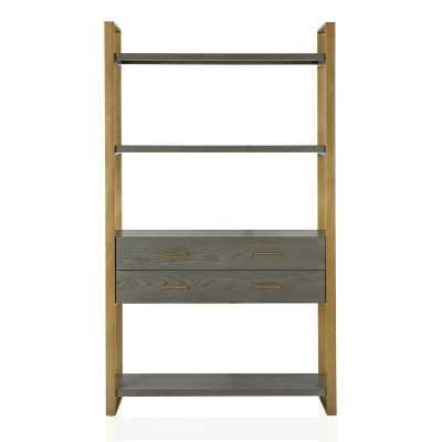 Alfie Metal Etagere Bookcase - Wayfair