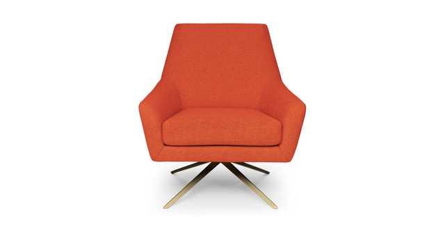 SPIN Swivel Chair - Sunset Orange - Article