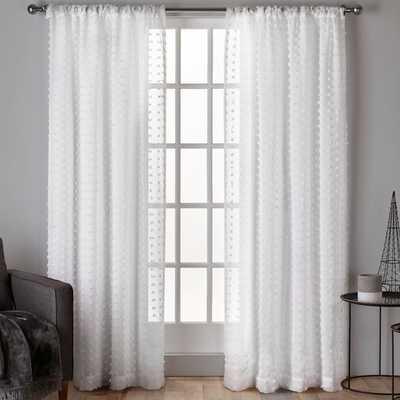 Spirit Solid Sheer Rod Pocket Curtain Panels - Wayfair