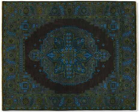 Heriz 5'x8' Rug in Ink - Room & Board