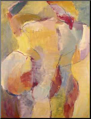 Abstract No.6 - Mounted Giclee Print - art.com