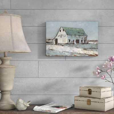 'Plein Air Barn II' Painting on Canvas - Wayfair