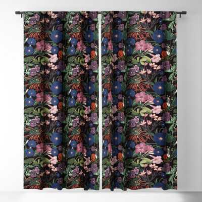 Floral Sympohny  Blackout Window Curtain - Wander Print Co.