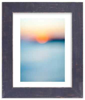 "sunset study - 8""x10"" (10.4"" X 12.4"" framed) - Minted"