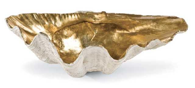 Golden Clam Bowl Small - Regina Andrew