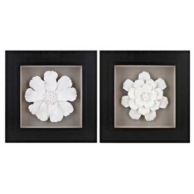 Holly Dimensional Wall Art - Ast 2 - Mercer Collection