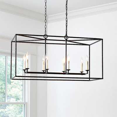 Hadley 8-Light Pendant - Rectangular - Ballard Designs