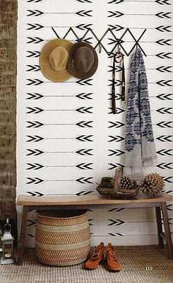 Tapestry Wallpaper in Zuni design - Burke Decor