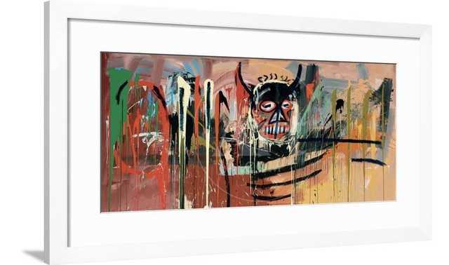 "Untitled (Devil) by Jean-Michel Basquiat 36"" x 24"" - art.com"