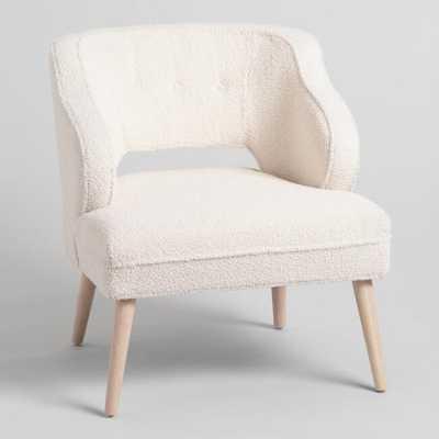 Tyley Upholstered Chair - Fauxfur by World Market Fauxfur - World Market/Cost Plus
