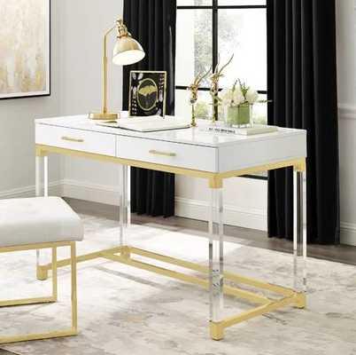 Leeann Writing Desk - Wayfair