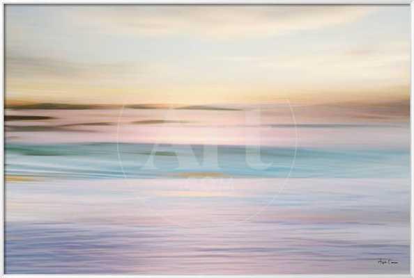 """Pastel Seascape, 54"""" x 36"""" - art.com"""