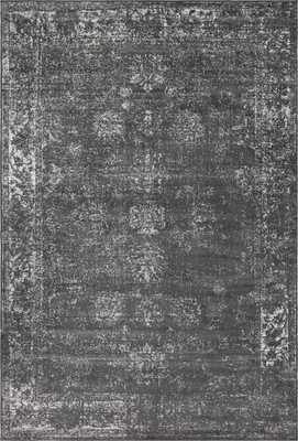 Brandt Dark Gray Area Rug - Neva Home