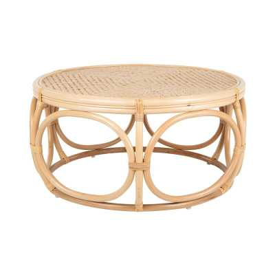 Melton Rattan Coffee Table - Wayfair