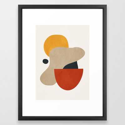 Abstract Art 11 Framed Art Print by ThingDesign - Society6