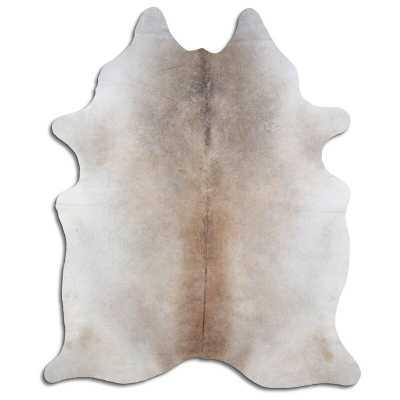 Pfaff Handmade Cowhide Brown/Off White Area Rug - Wayfair