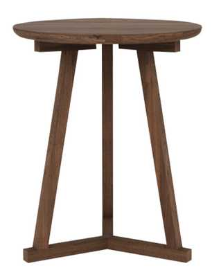 Tripod Side Table - Walnut - McGee & Co.