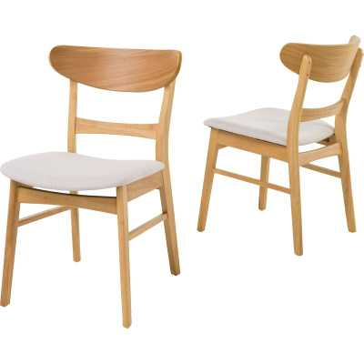 Hahn Solid Wood Dining Chair - Set of Two - AllModern