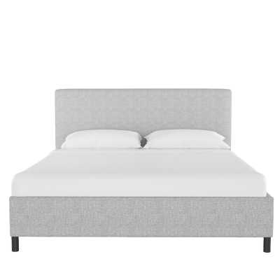 Keating Upholstered Platform Bed - Pumice - Queen - Wayfair