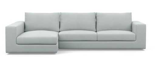 WALTERS Sectional Sofa with Left Chaise, Ore - Interior Define