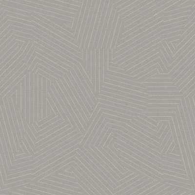 Stitched Prism - Gray - York Wallcoverings