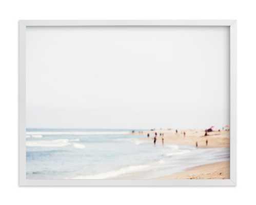 """malibu 24 x 18"""" White frame - Minted"""